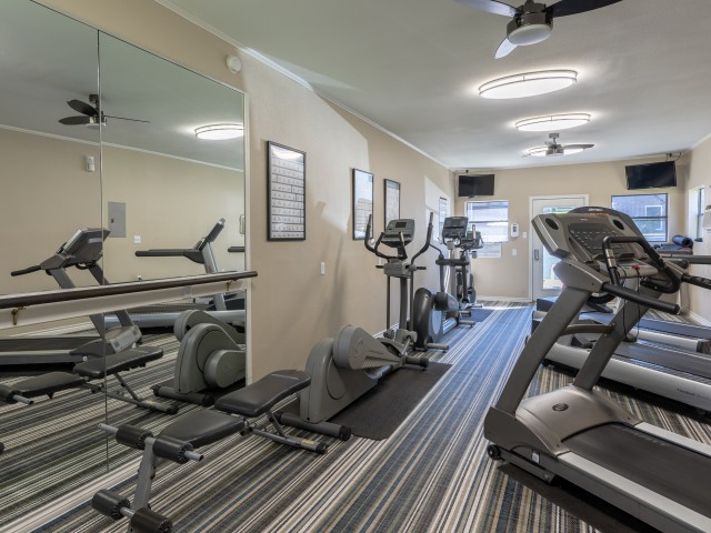 Fitness center with cardio equipment | Canyon Creek