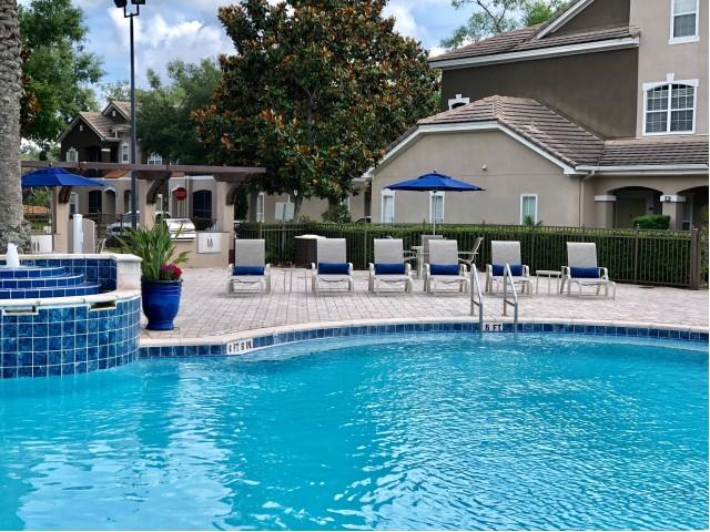 Ballantrae apartments with pool