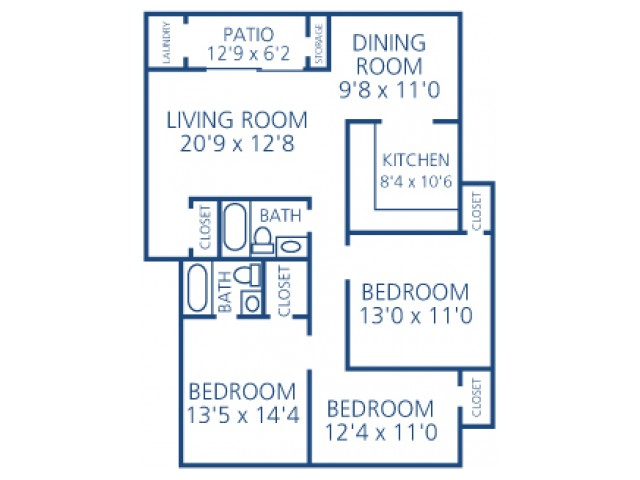 Three Bed Two Bath - Silver Package