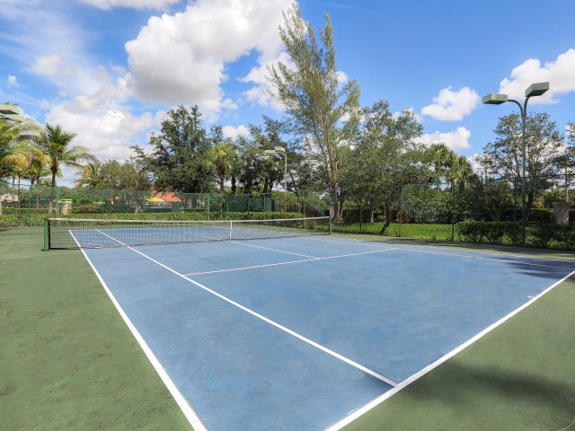 lit tennis court | apartment community amenity | Bonita Springs