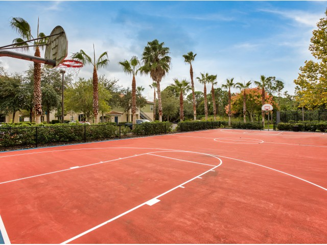Basketball court | Apartment amenities | Yacht Club at Heritage Harbor rental homes