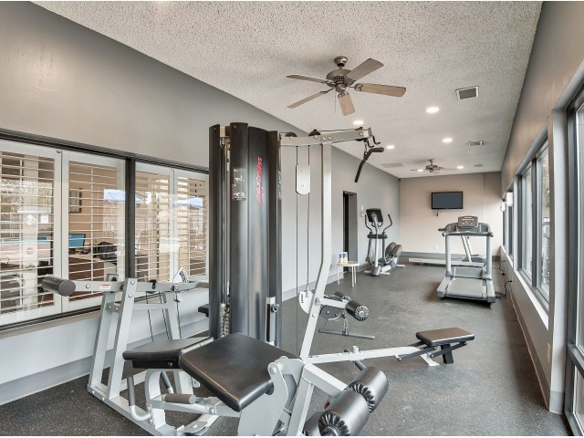 Apartment complex gym | 24-hour fitness | Randolph Park | Charlotte