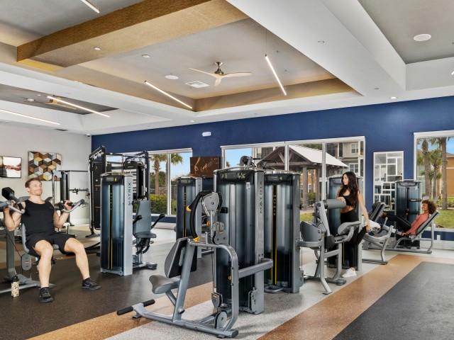 Echo Lake | Apartment gym in Lakewood Ranch