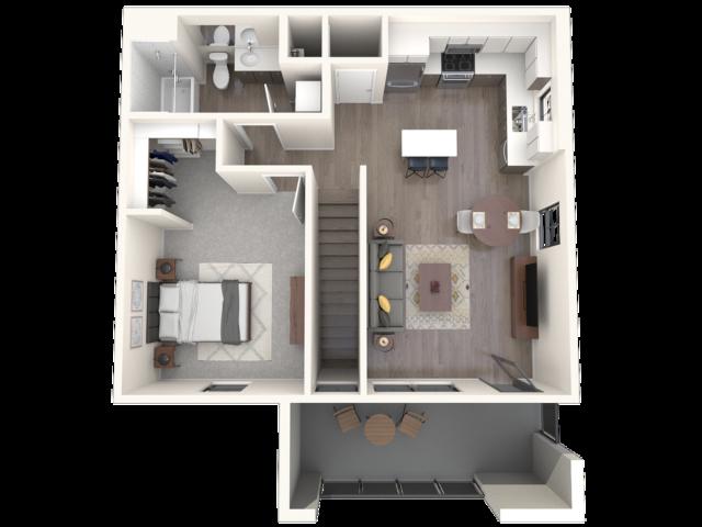 Manzano  3D floor plan