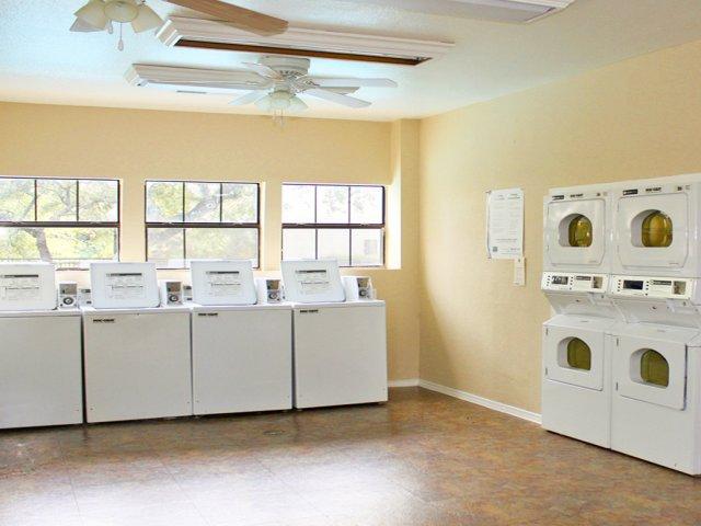 Apartment community laundry room | The Park at Walnut Creek