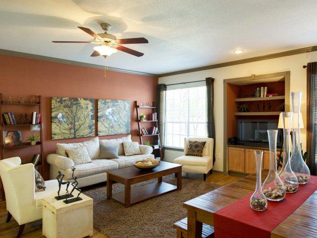 Open floor plan apartment | Museo | Austin TX