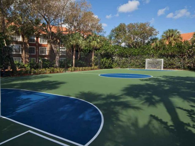 Sport Court for soccer, basketball and track