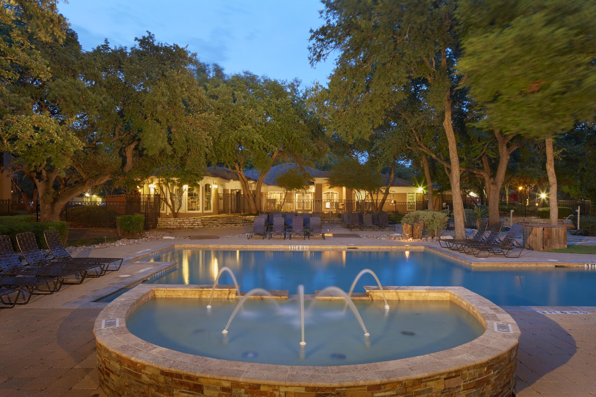 Northland at the Arboretum   apartment community pool