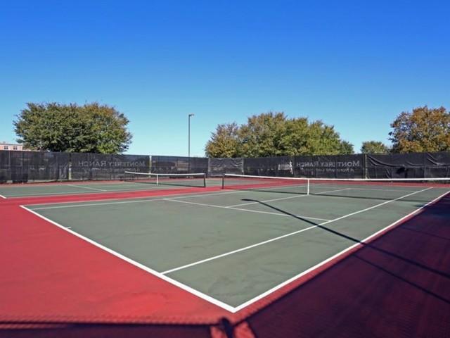 Tennis courts | Motnerey Ranch | Austin TX