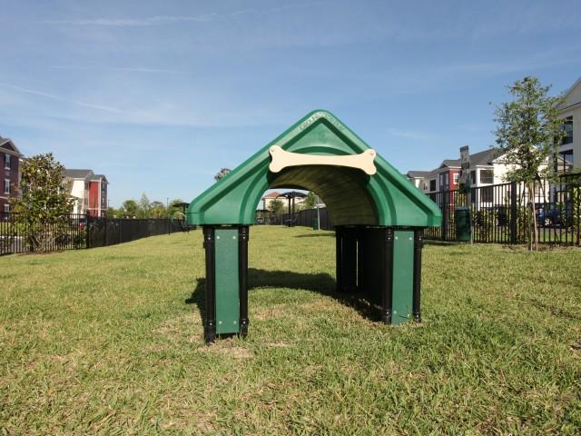 Dog park | pet friendly apartments in Land O\' Lakes FL | Village at Terra Bella