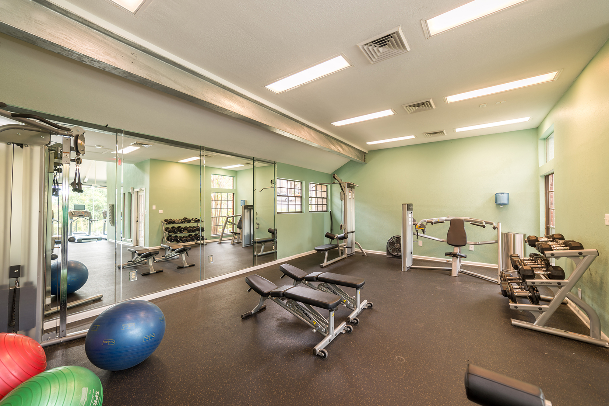 Image of State-of-the-Art Fitness Center for High Oaks Apartment Homes