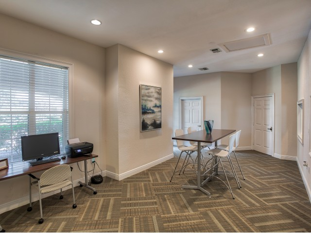 Ballantrae, interior, clubhouse with wi-fi and business center