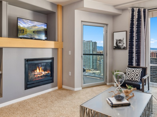 Luxury apartment in downtown Denver