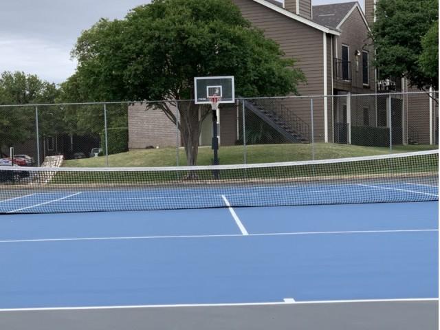 Canyon Creek sports court | Austin TX rental community