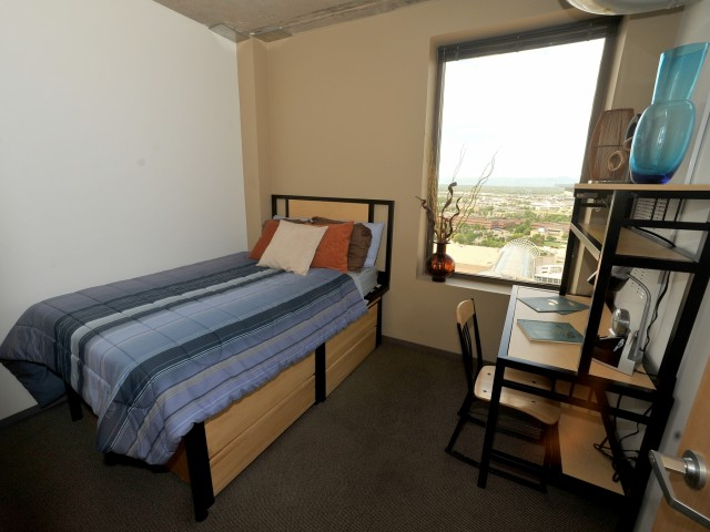 Image of Private Bedrooms and You Share Bathroom with only one Person for Auraria Student Lofts