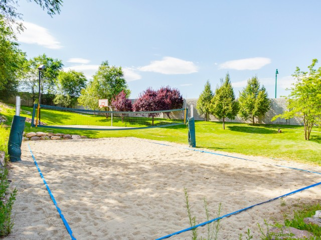 Image of Volleyball Court for University Gateway