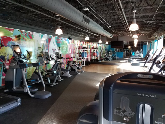Image of State of the art Fitness Center with Free Weights and Yoga Studio for Auraria Student Lofts