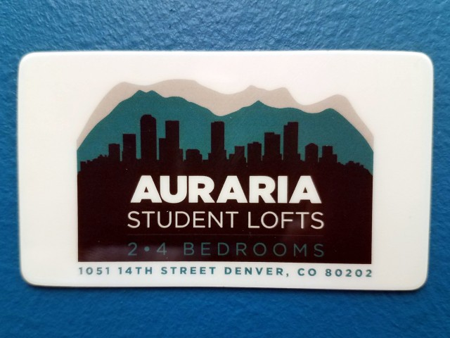 Image of RESIDENT DISCOUNT CARDS - for Auraria Student Lofts