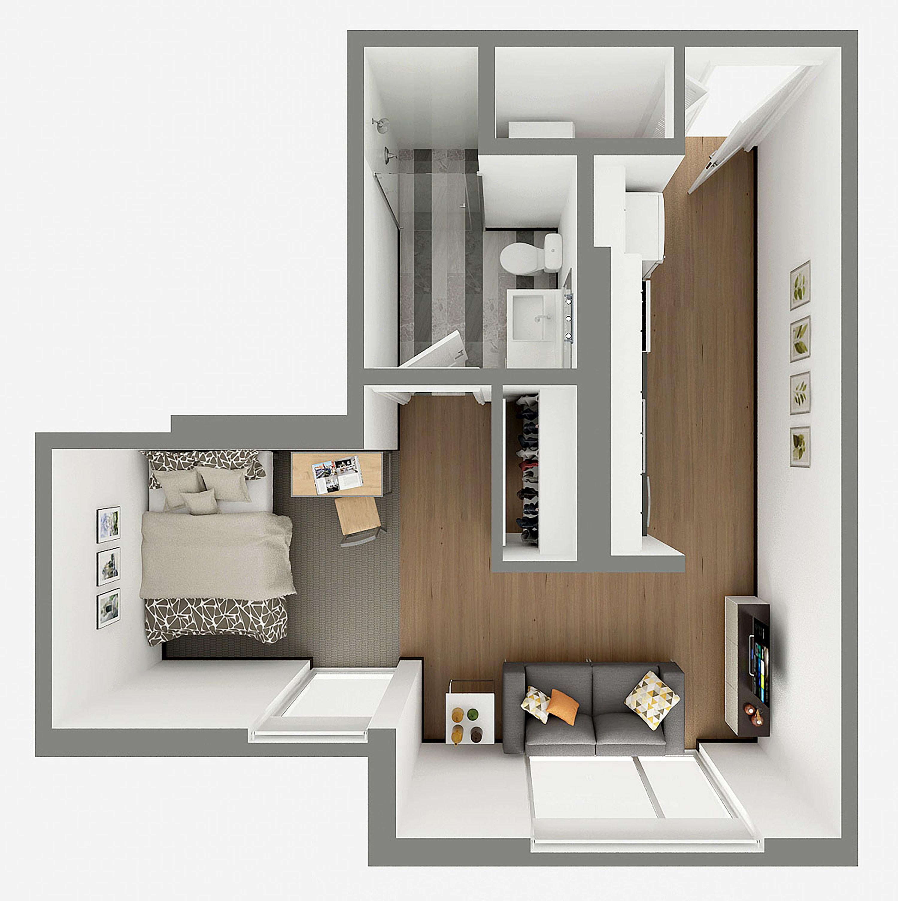 S1 Aerial Floor Plan