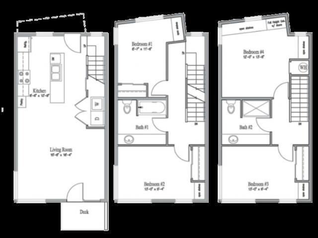 4 Bedroom 2 Bathroom