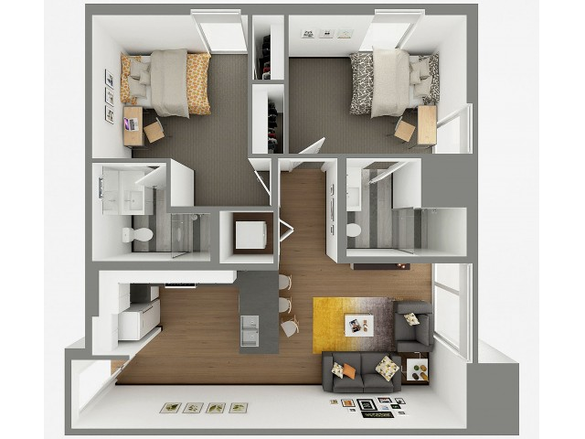 Floorplan of B3 Penthouse