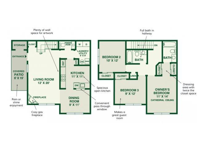 All Floor Plansevergreen