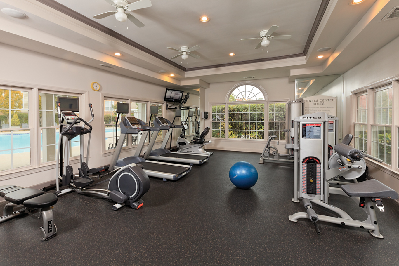 Image of 24 Hour Fitness Gym for Parc at Perimeter
