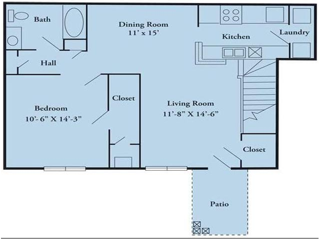 Floor Plan | Arbor Ridge Apartments