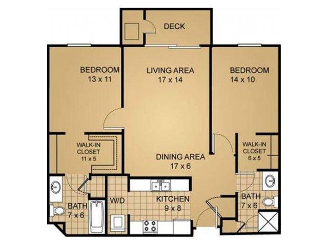 Floor Plan 6 | Saddle Brook