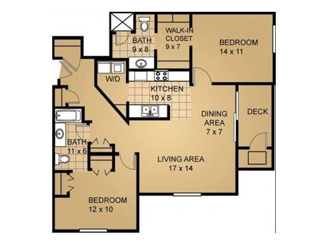 Floor Plan 7 | Saddle Brook