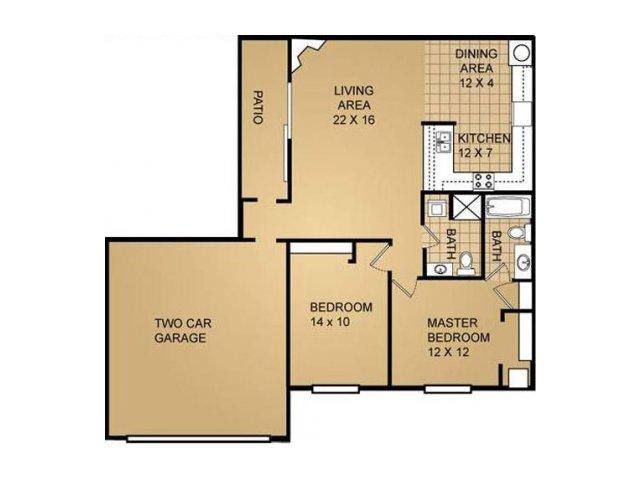 Floor Plan 8 | Saddle Brook