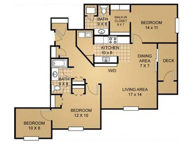 Floor Plan 9 | Saddle Brook