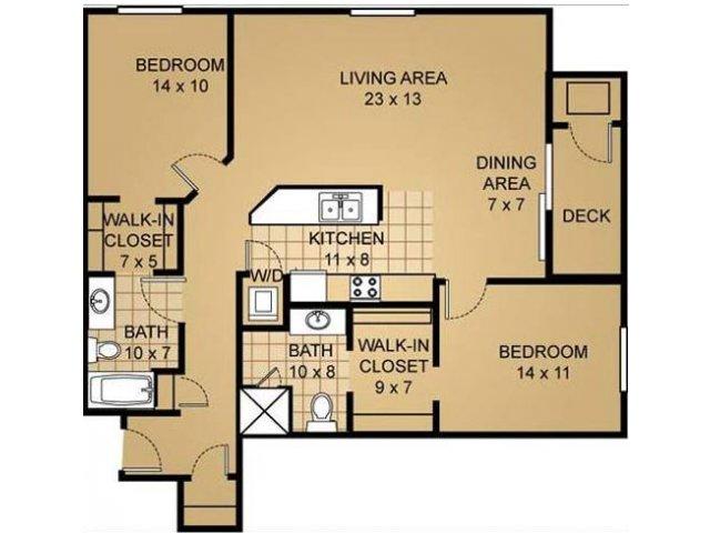 Floor Plan 10 | Saddle Brook