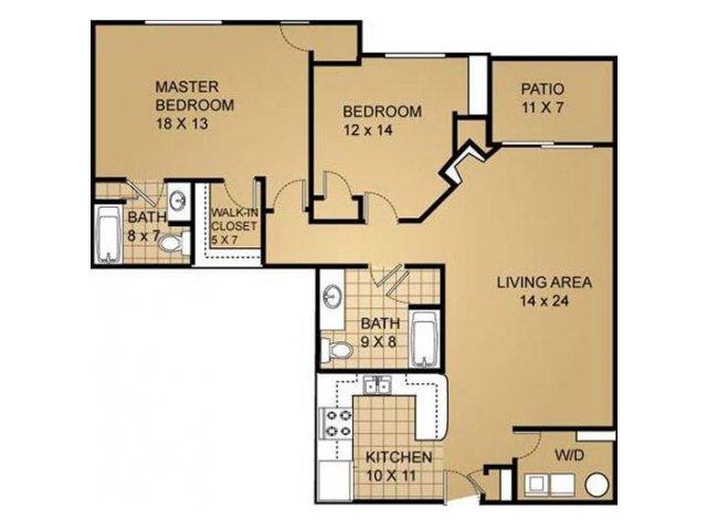 Floor Plan 12 | Saddle Brook