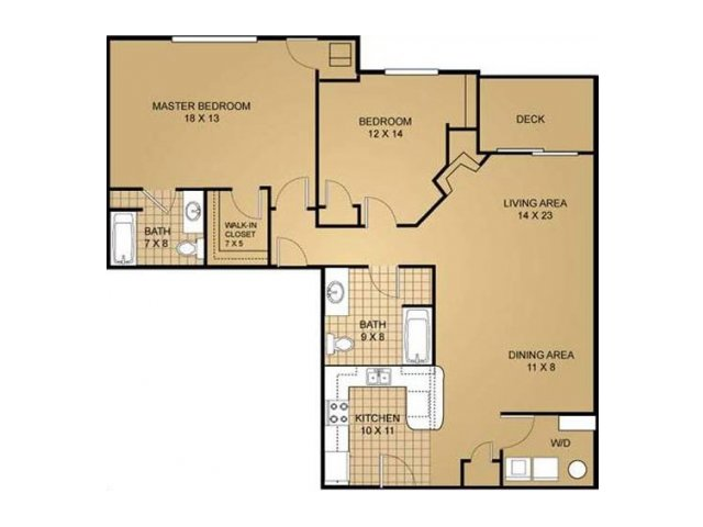 Floor Plan 13 | Saddle Brook