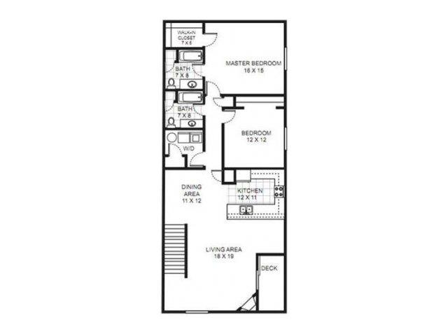 Floor Plan 14 | Saddle Brook