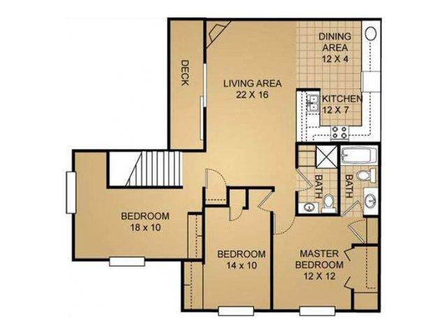 Floor Plan 15 | Saddle Brook