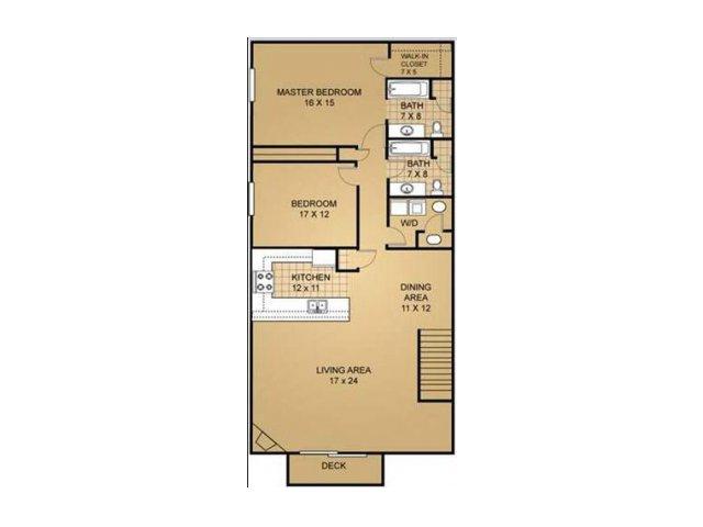 Floor Plan 16 | Saddle Brook