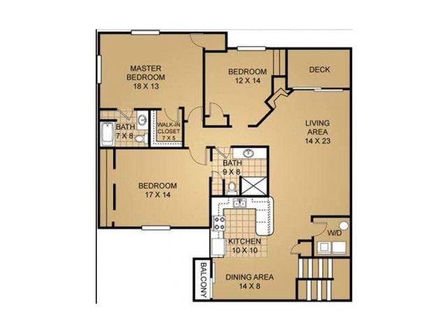 Floor Plan 17 | Saddle Brook
