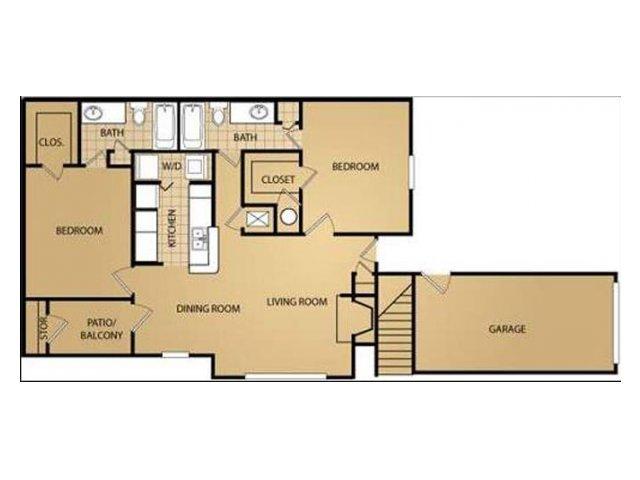 Floor Plan 4 | Saint James Place Apartments