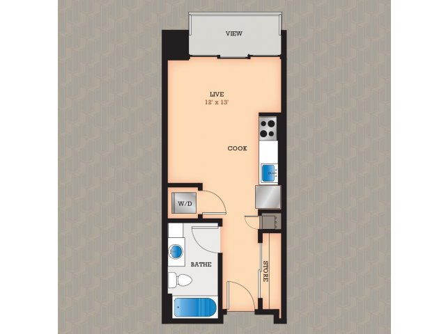 Floor Plan 3 | Domain Apartments