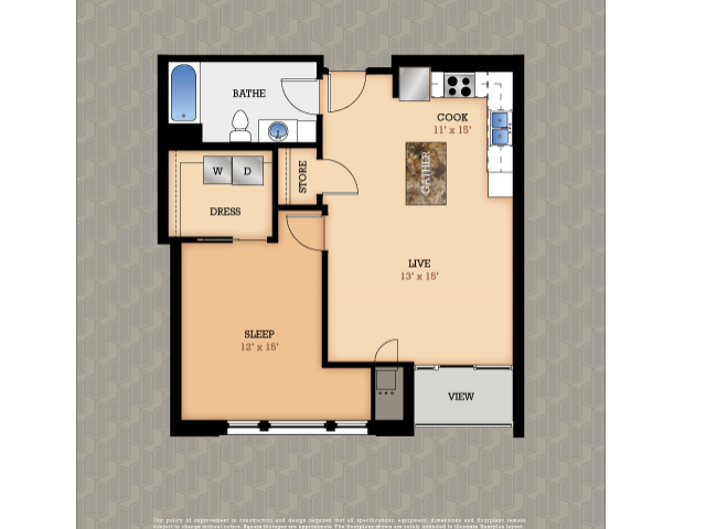 Floor Plan 6 | Domain Apartments