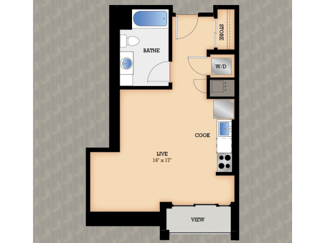 Floor Plan 24 | Domain Apartments