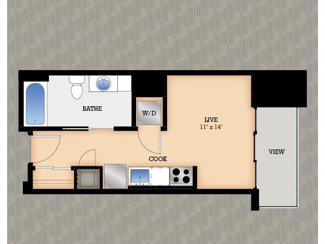 Floor Plan 25 | Domain Apartments