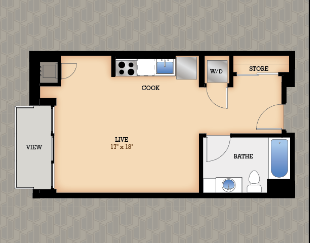 Floor Plan 27 | Domain Apartments
