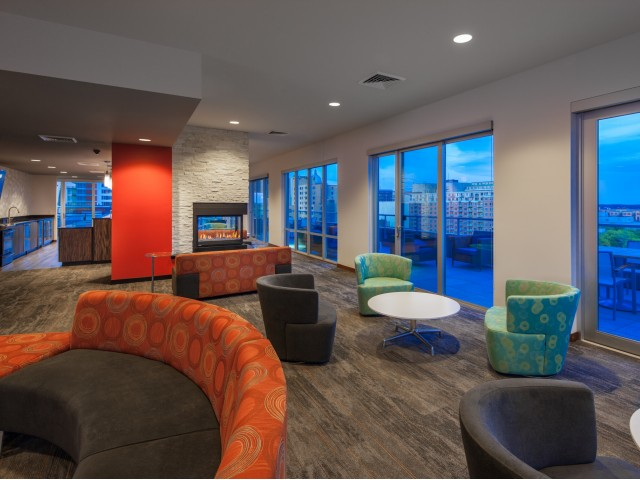Image of Top Floor Clubhouse for Domain