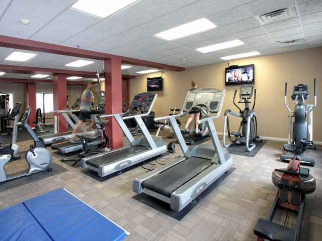 Image of Fitness Center for The Landmark at Hatchery Hill