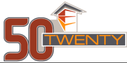 50Twenty Apartments Logo