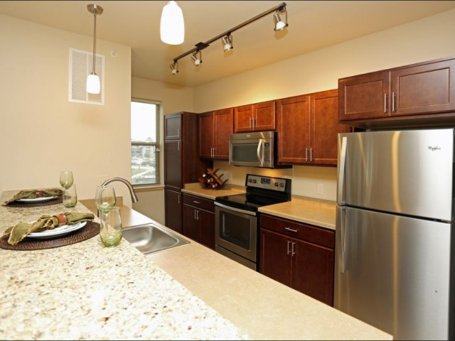 Image of Stainless Steel Appliance Package for The Woodlands Apartments