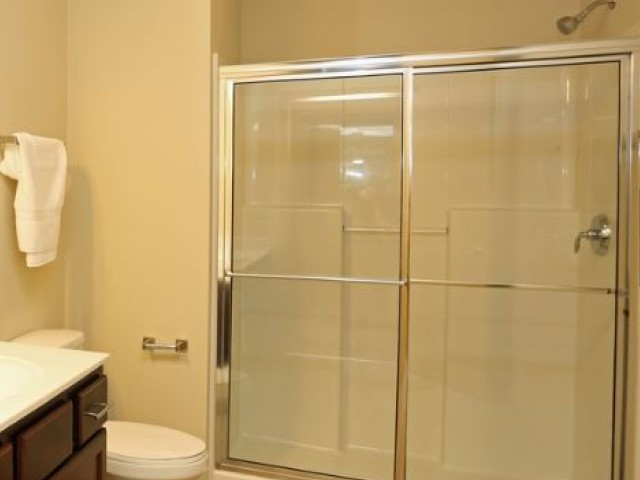 Image of Over-sized Walk in Showers in Select Homes for The Woodlands Apartments